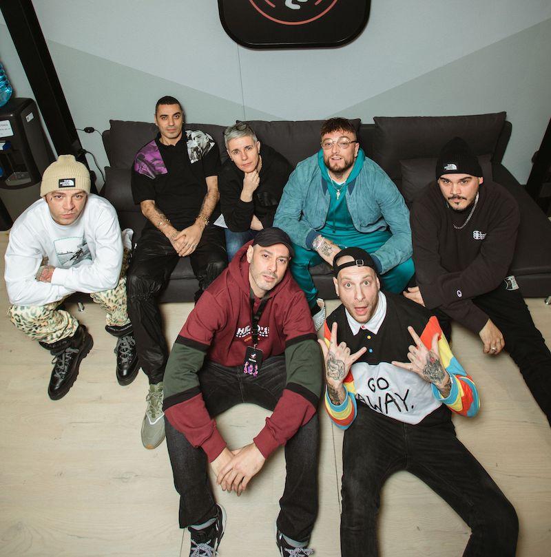 La crew di TRX Radio. Foto di Andrea Bianchera