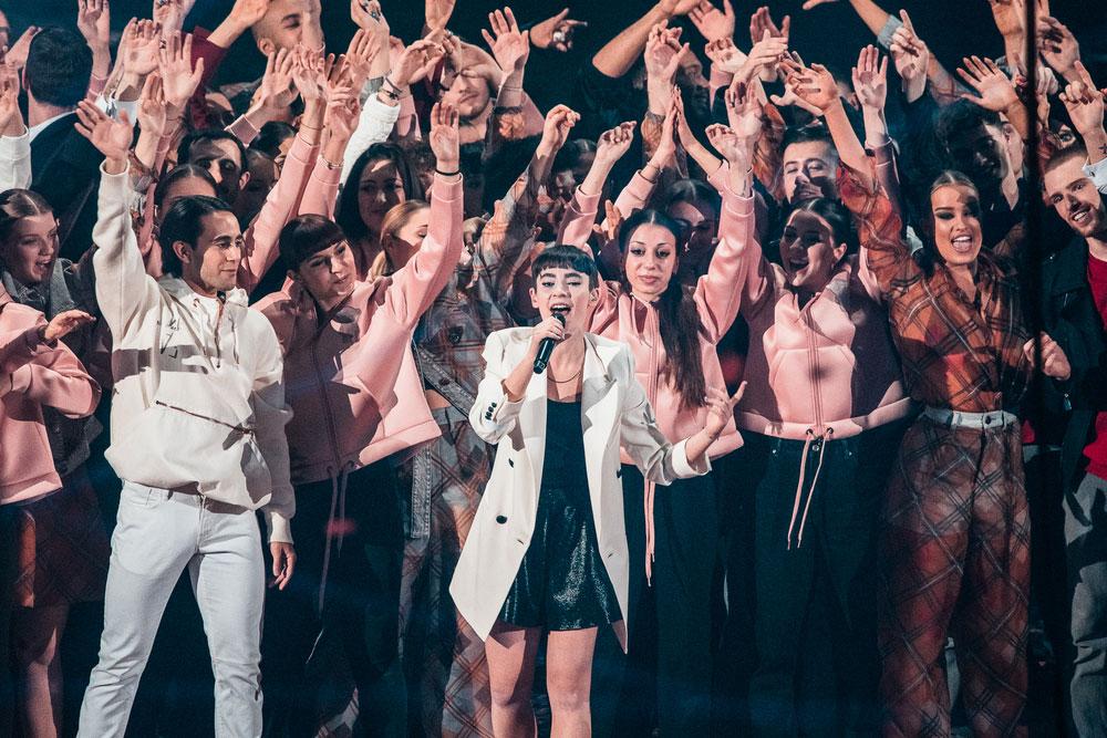 Sofia, la vincitrice di X Factor 13, foto di Starfooker