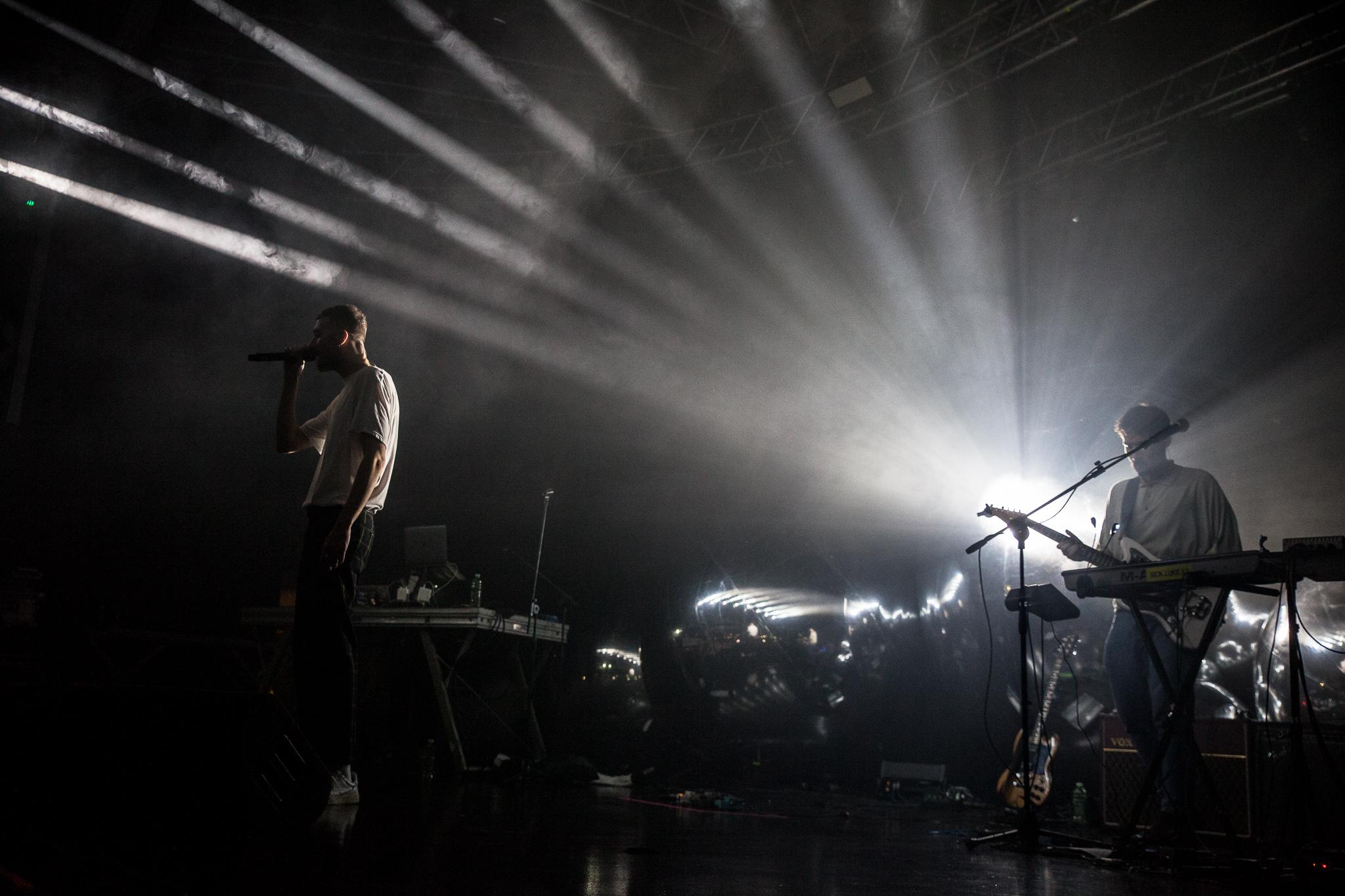 Mecna sul palco del Fabrique/Foto di Nicola Braga