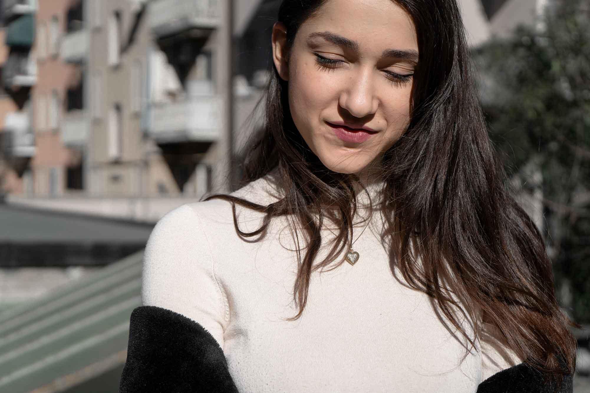 Camilla Magli fotografata da Giulia Cortinovis