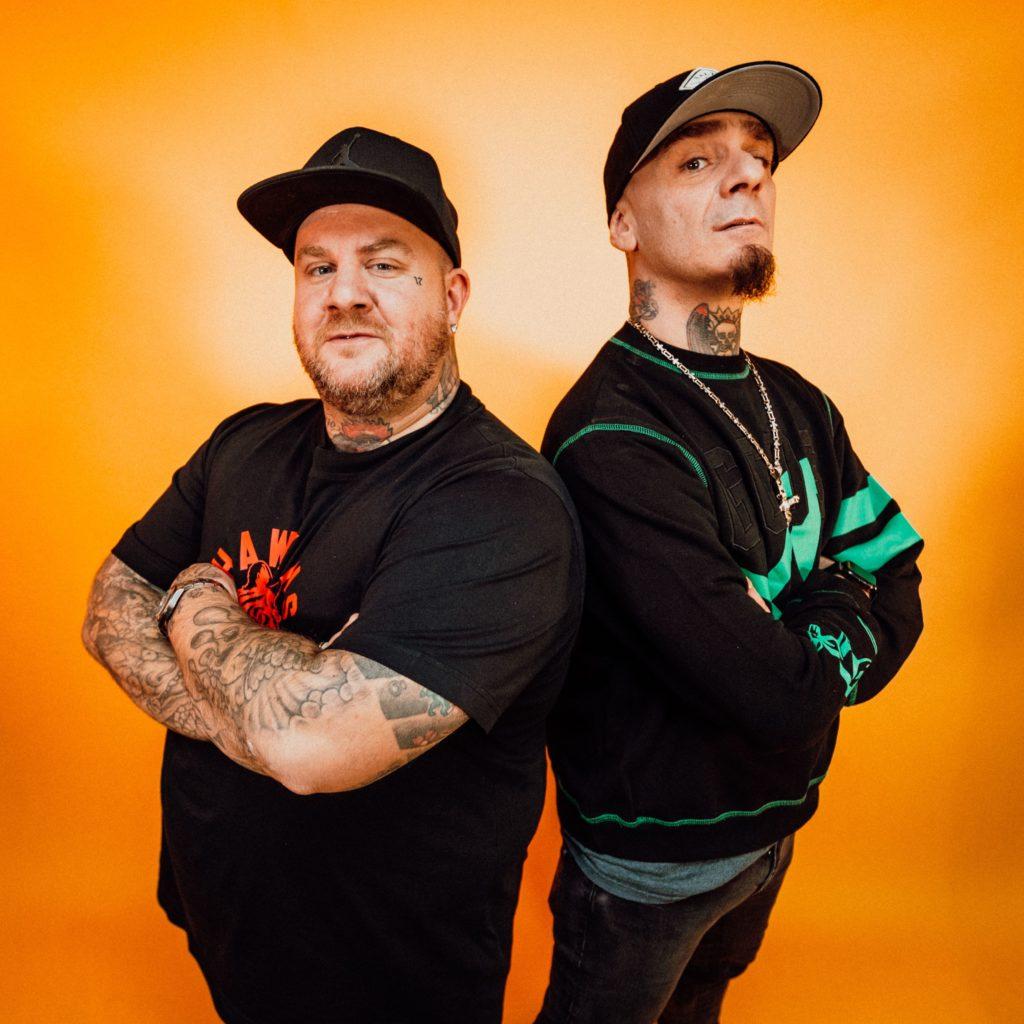 J-Ax e Jake La Furia. Foto di Virginia Bettoja.