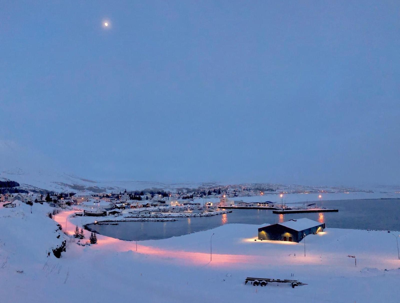 La baia di Húsavík