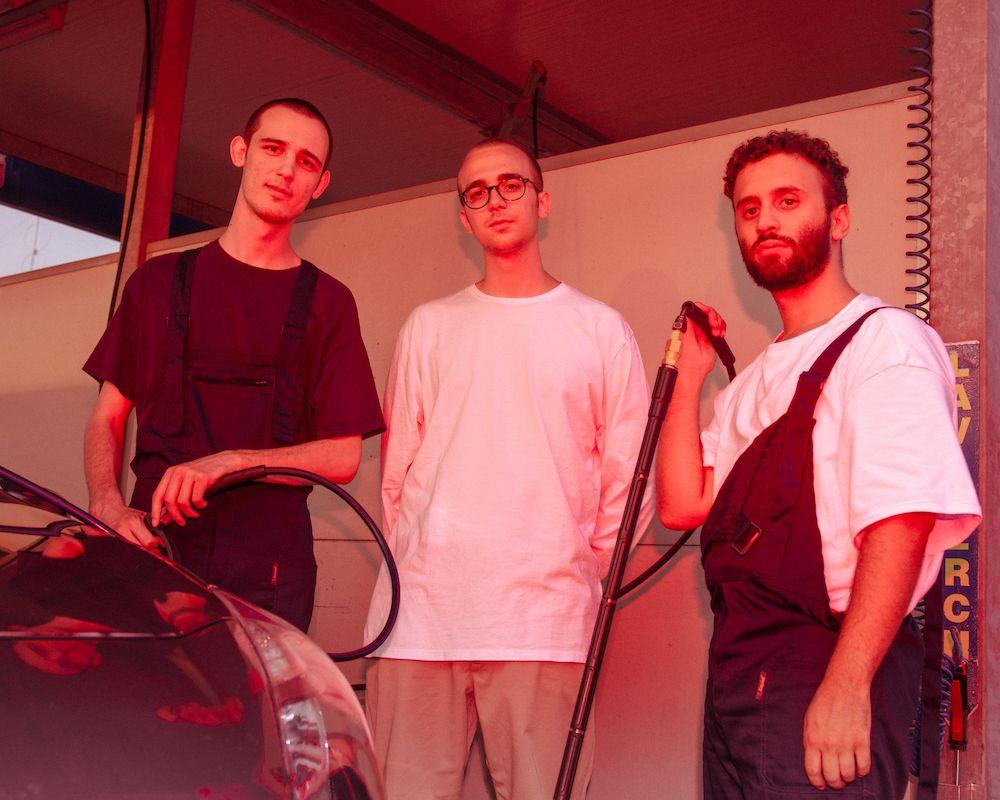 Da sinistra a destra Wuf, Nicolaj e Fight Pausa - foto di Christian Kondic