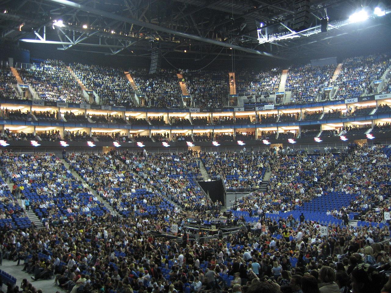 La O2 Arena a Londra nel 2007, foto di rp72
