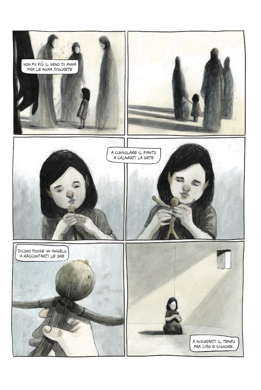 Illustrazioni di Paolo Castaldi tratte dal graphic novel La buona novella