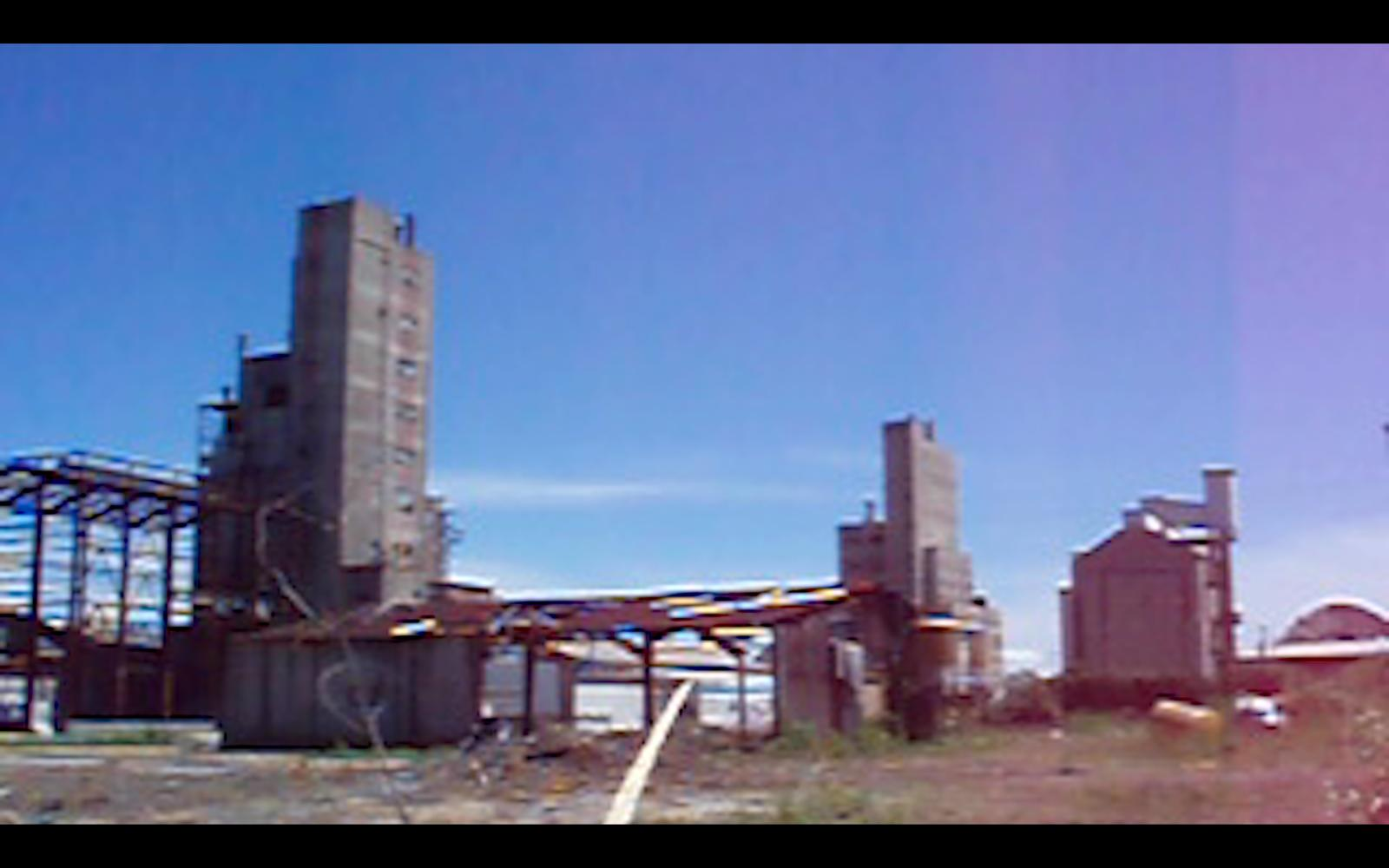 Fabbrica abbandonata a Marghera
