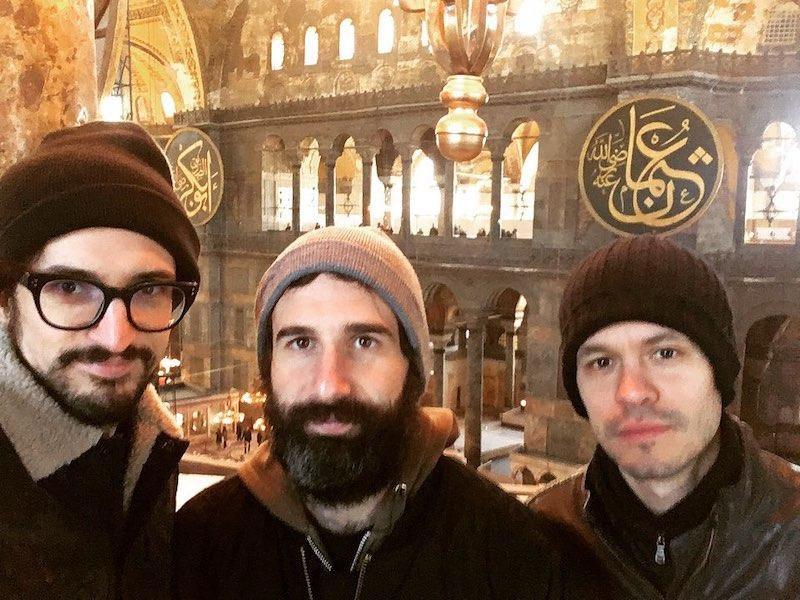 Gli Hakan turisti a Istanbul