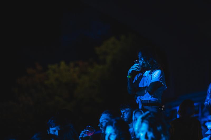 Il pubblico, foto di Jack