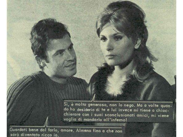 Franco Califano in un fotoromanzo