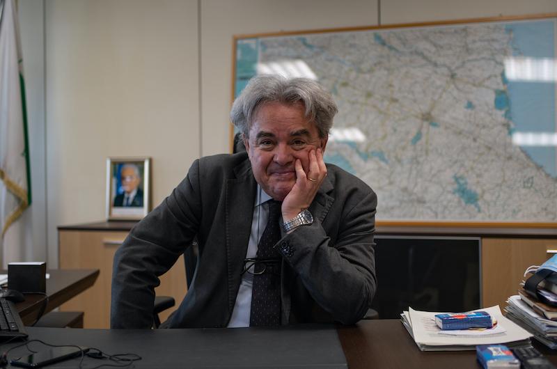 L'assessore Mauro Felicori