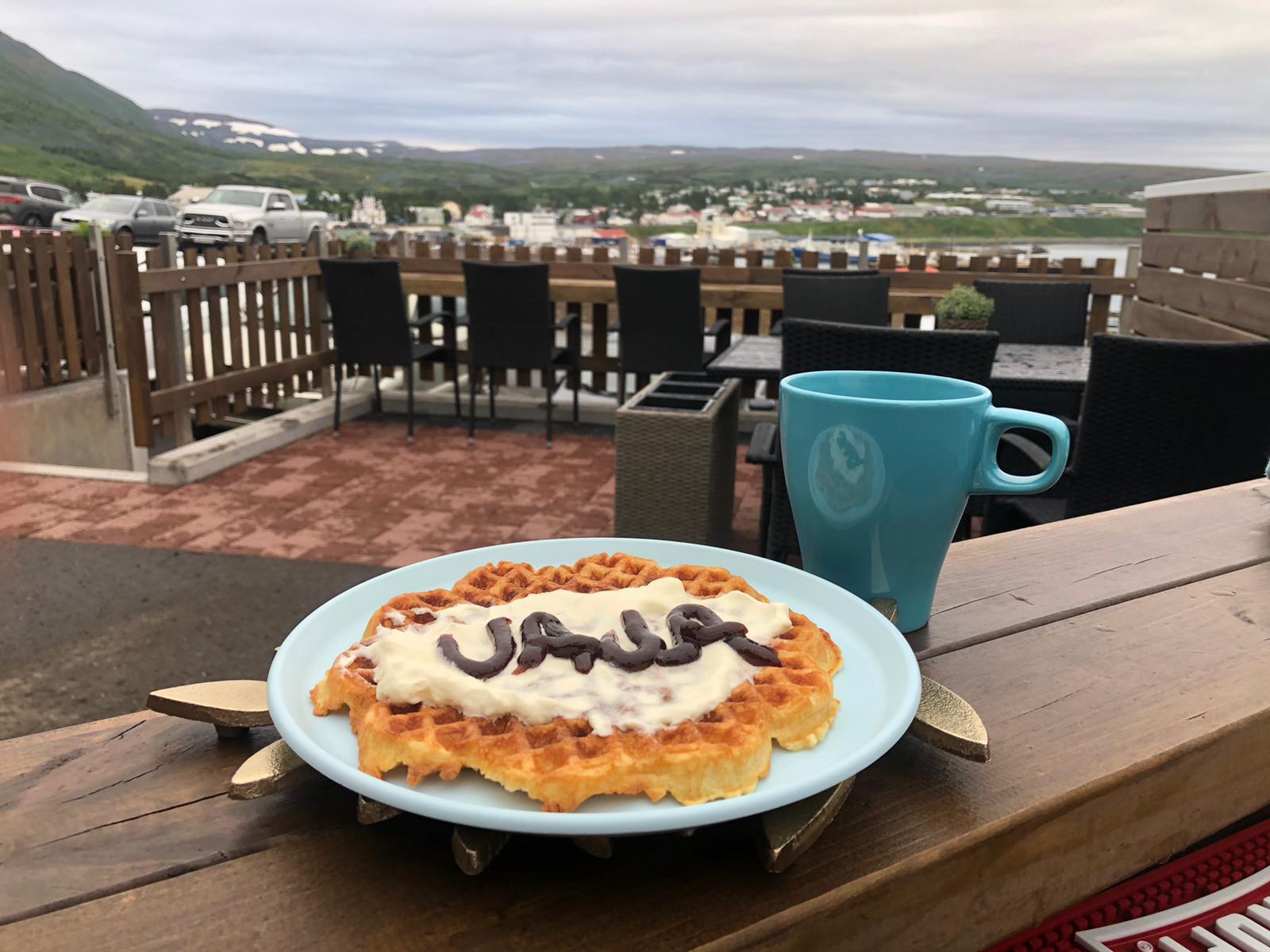 Waffle per colazione