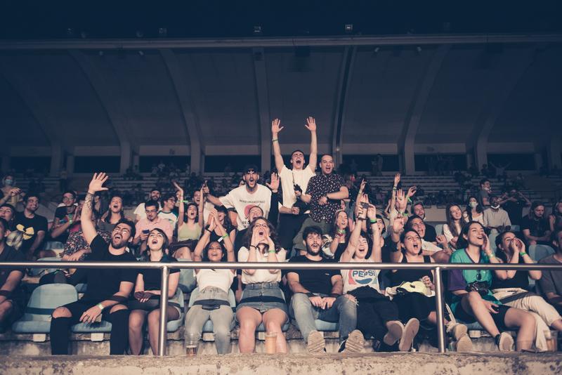 Il pubblico di Cuori Impavidi, foto di Starfooker