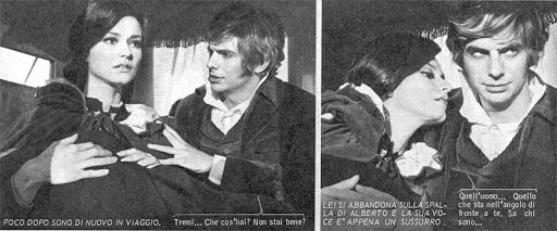 Maurizio Arcieri alle prese con il film statico