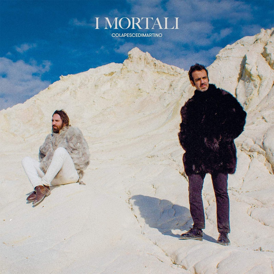 La copertina del disco