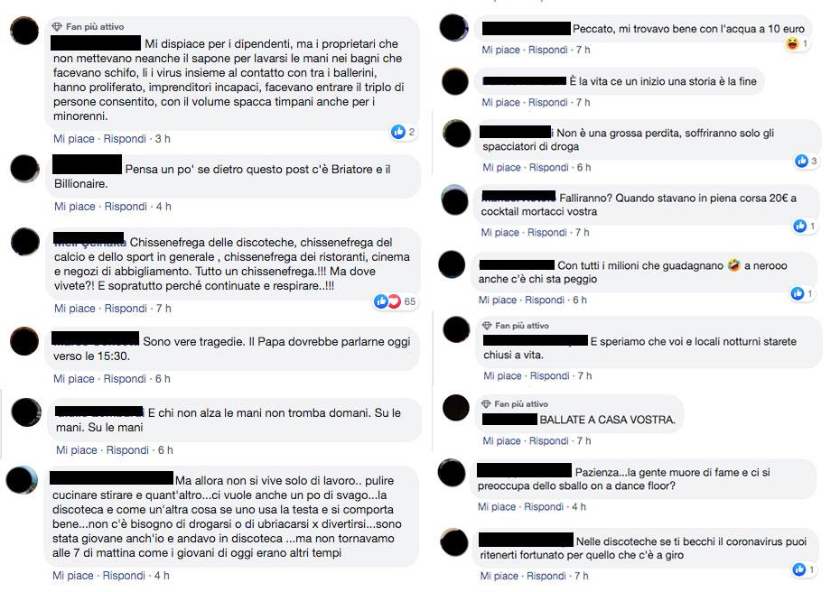 I commenti al video di Repubblica