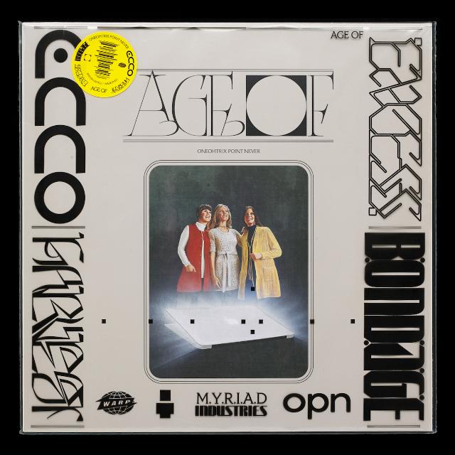 La copertina di Age Of di Oneohtrix Point Never realizzata da David Rudnick