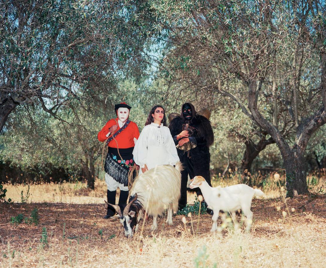 Bluem nella sua terra madre, la Sardegna. Foto di Jasmine Färling