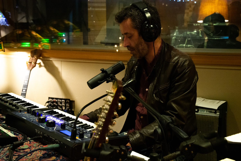 Daniele Silvestri alle tastiere - foto Sabrina Laganà