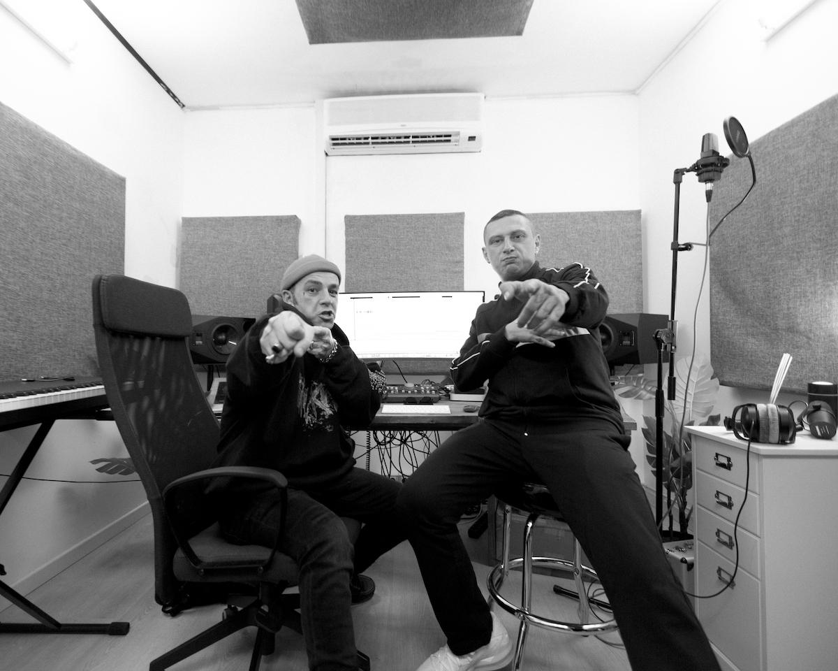 Inoki in studio con Salmo