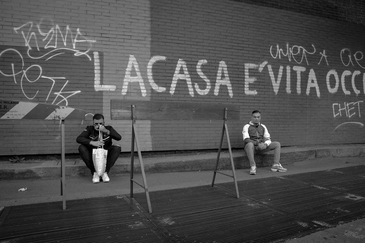 Pablo e Speranza a Milano - foto Roberto Graziano Moro