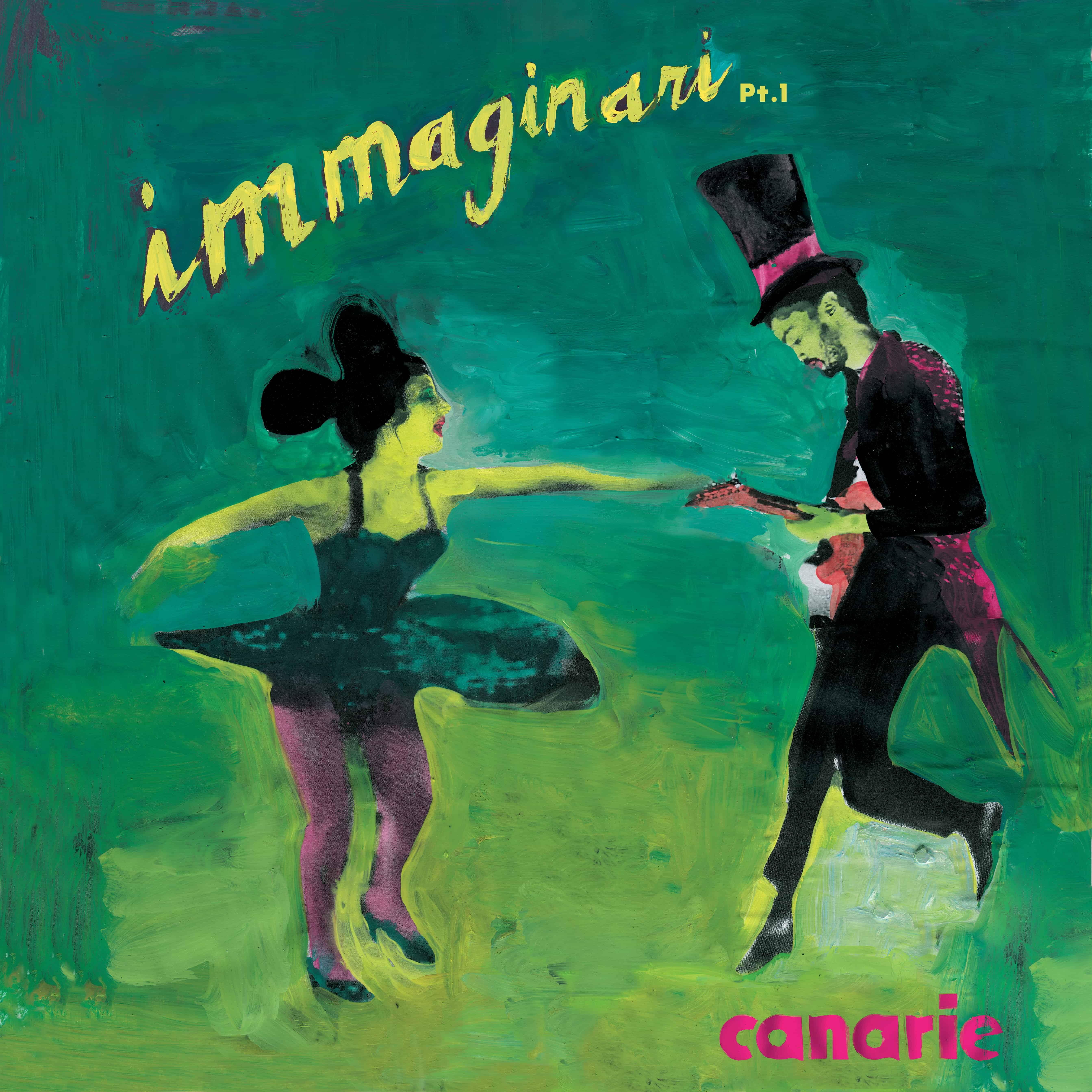 The cover of Immaginari, pt. 1 - graphics by Gianluigi Toccafondo