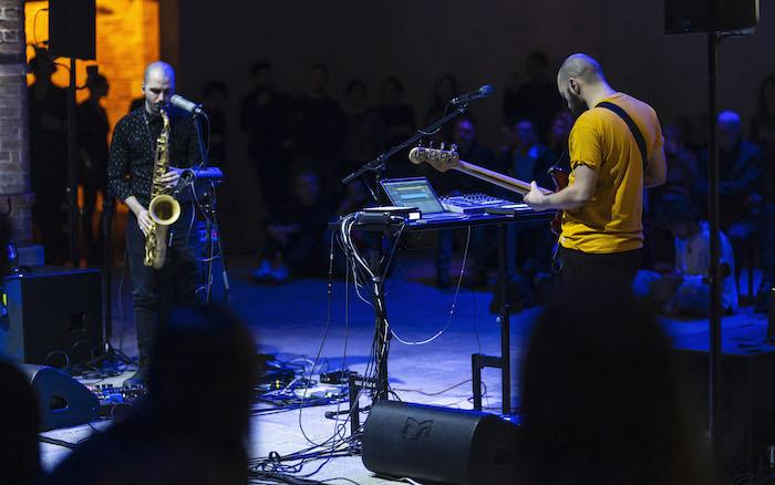 Marco Scipione live a Venezia, foto di Matteo De Fina