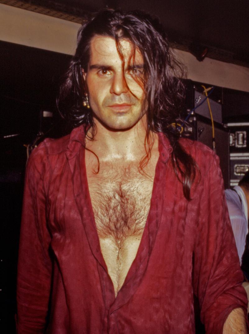 Piero Pelù, 1986 Foto di  Alex Fontaine