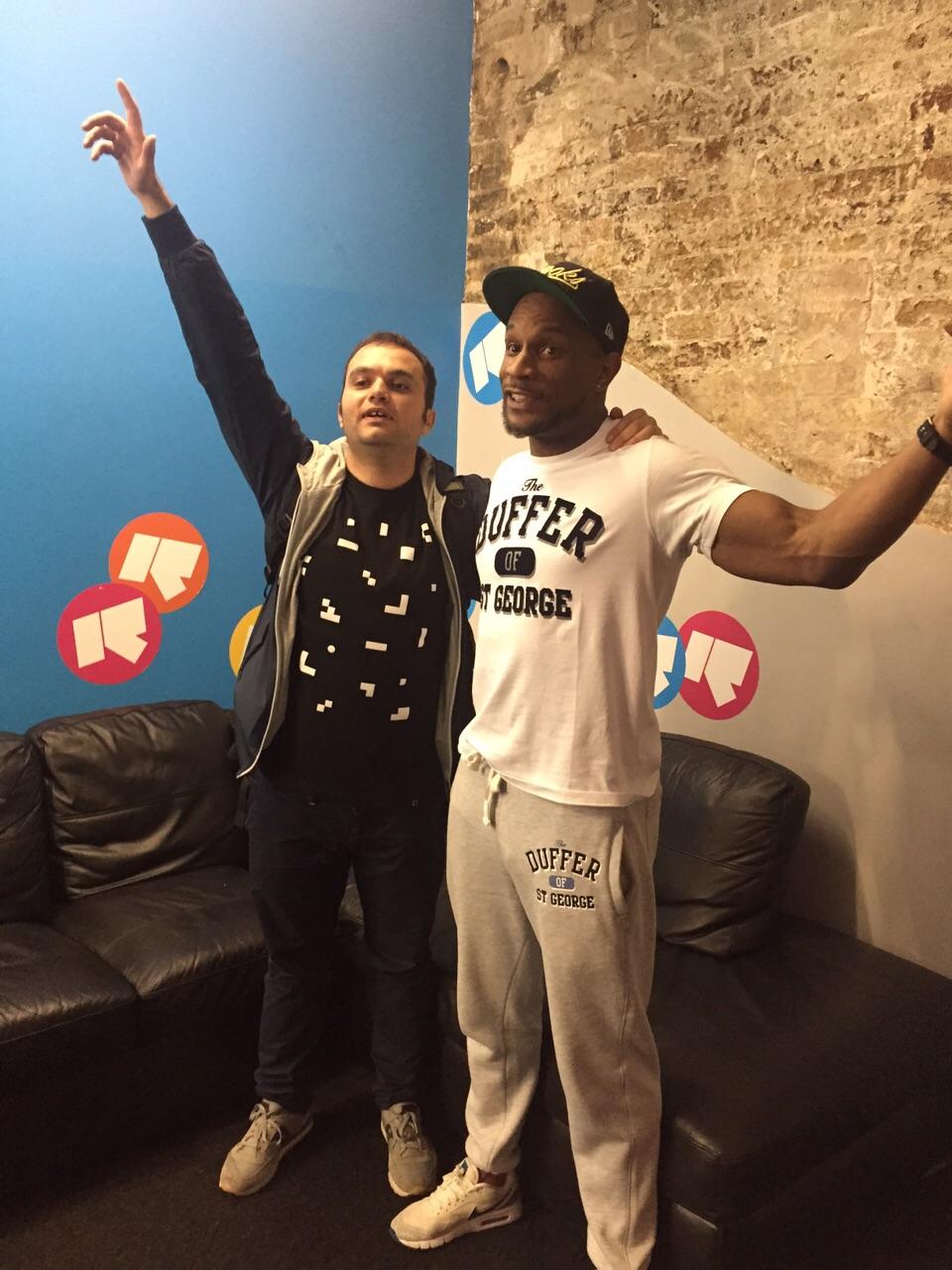Lorenzo BITW con Marcus Nasty a Rinse FM