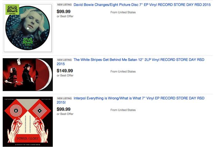 Aumentano le polemiche sul prossimo Record Store Day: le edizioni speciali dei dischi sono già in vendita su eBay