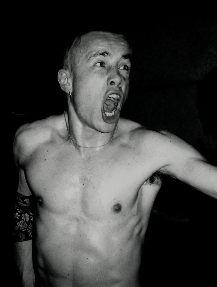 La foto di copertina del DVD
