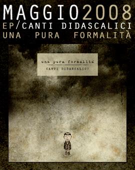 Canti Didascali Maggio 2008