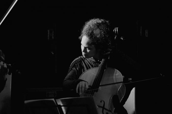 La violoncellista Daniela Savoldi