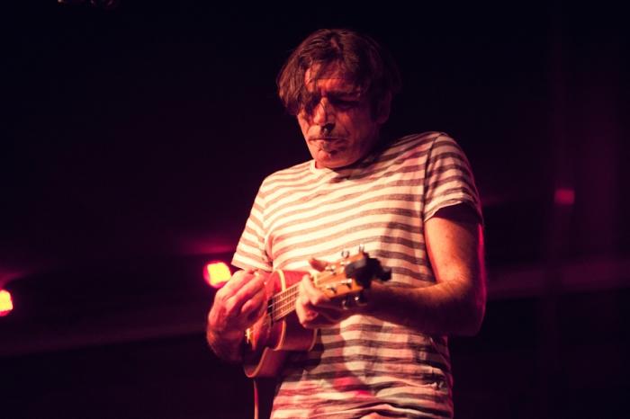 Bobo Rondelli all'ukulele