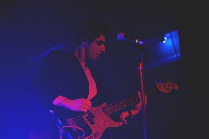 Gabriele Blandamura durante il concerto