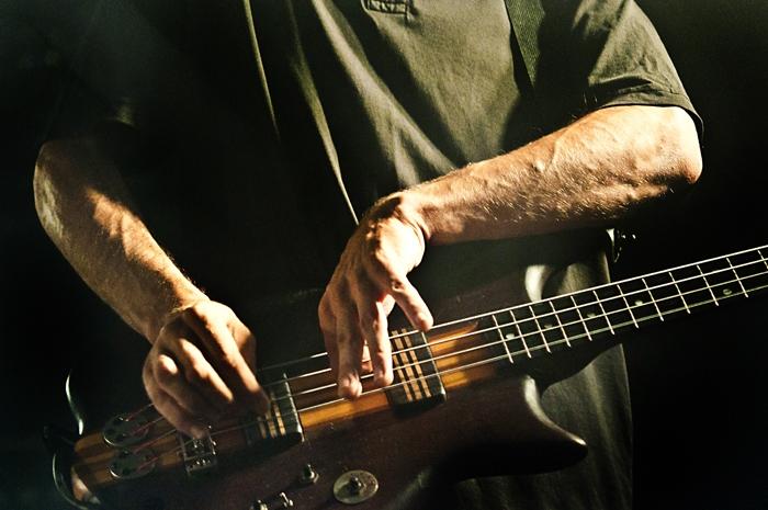 Massimo Pupillo al basso