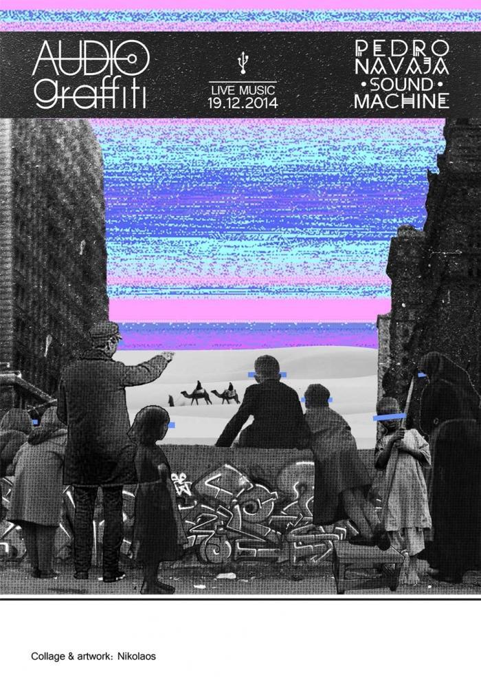 AUDIOgraffiti   Live concert flyer