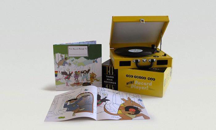 The Third Man Mini Record Player