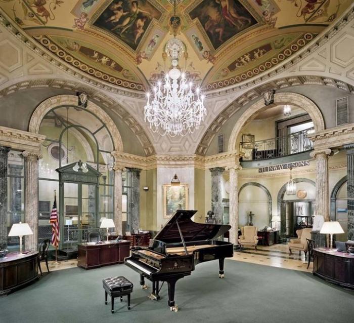 Un bellissimo pianoforte Steinway