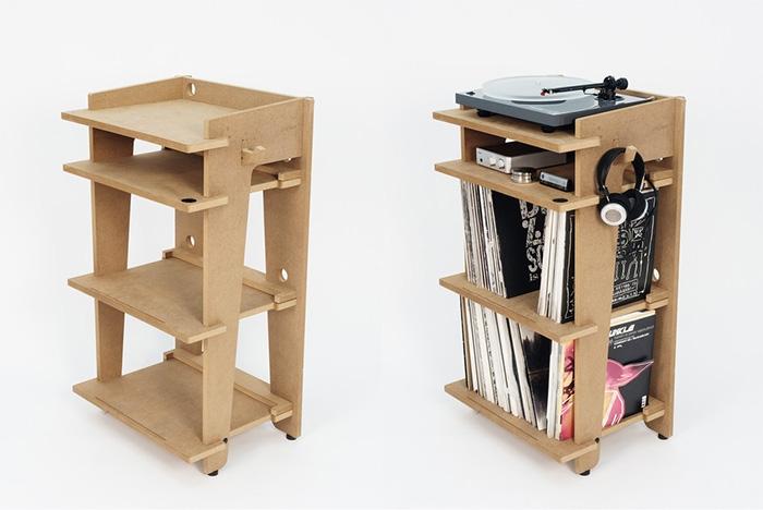 10 mobili per giradischi per rivoluzionare il vostro salotto turntable station phono line - Mobili per vinili ...