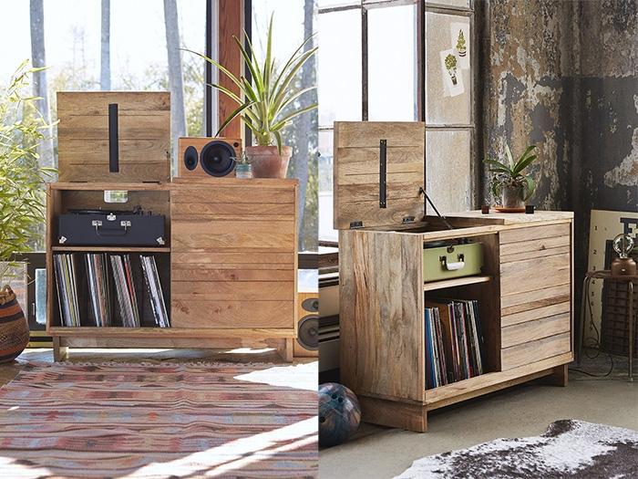 10 mobili per giradischi per rivoluzionare il vostro salotto for Mobili per il salotto