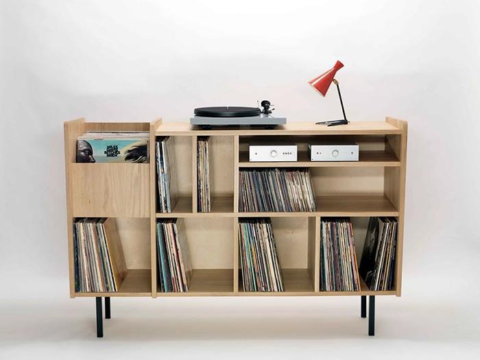 10 mobili per giradischi per rivoluzionare il vostro salotto ...