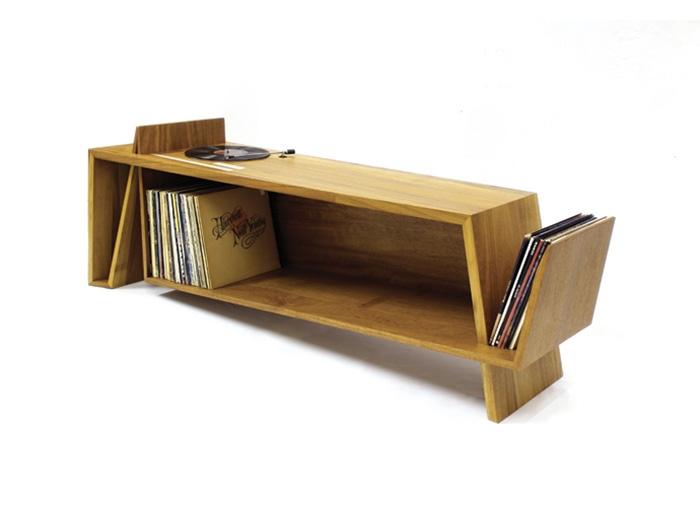 10 mobili per giradischi per rivoluzionare il vostro salotto (Folded ...
