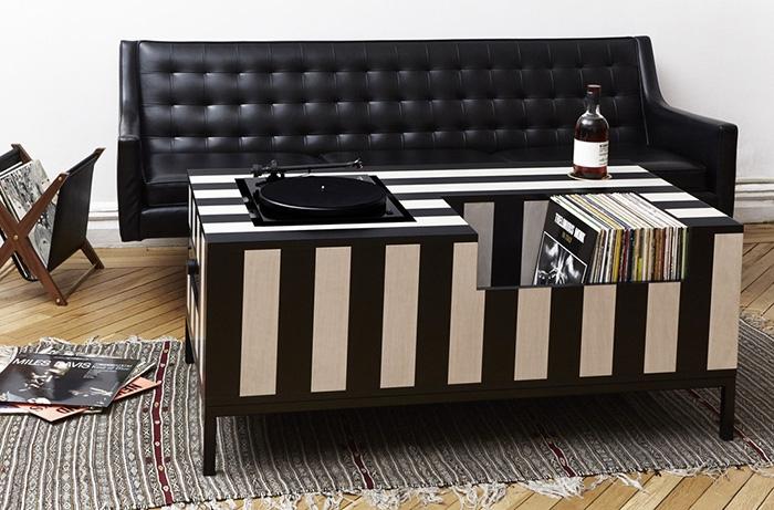 10 mobili per giradischi per rivoluzionare il vostro salotto (Kick ...