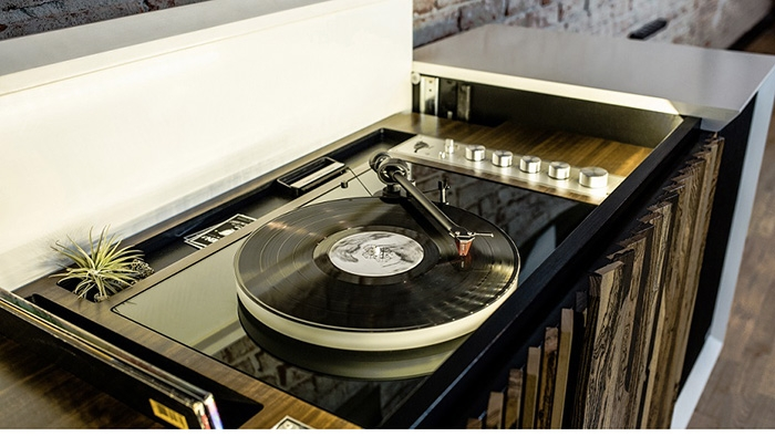 10 mobili per giradischi per rivoluzionare il vostro salotto wren m1 stereo console wren hi fi - Mobili per vinili ...