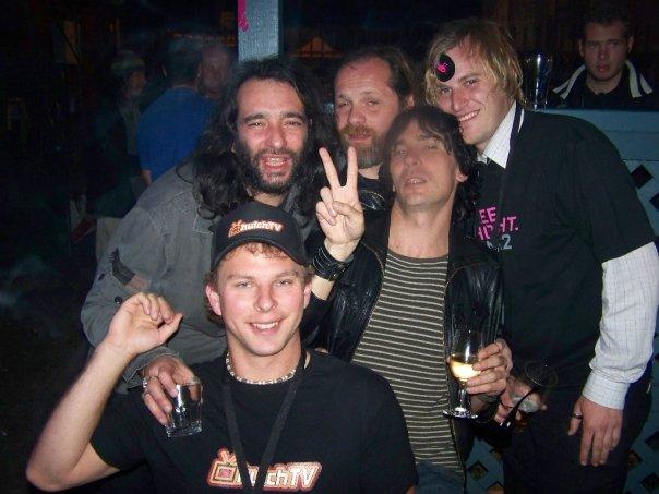 Duod, Martin Blackwell, Toffolo, Hutch TV e Appino versione Stooges al Republic Bar