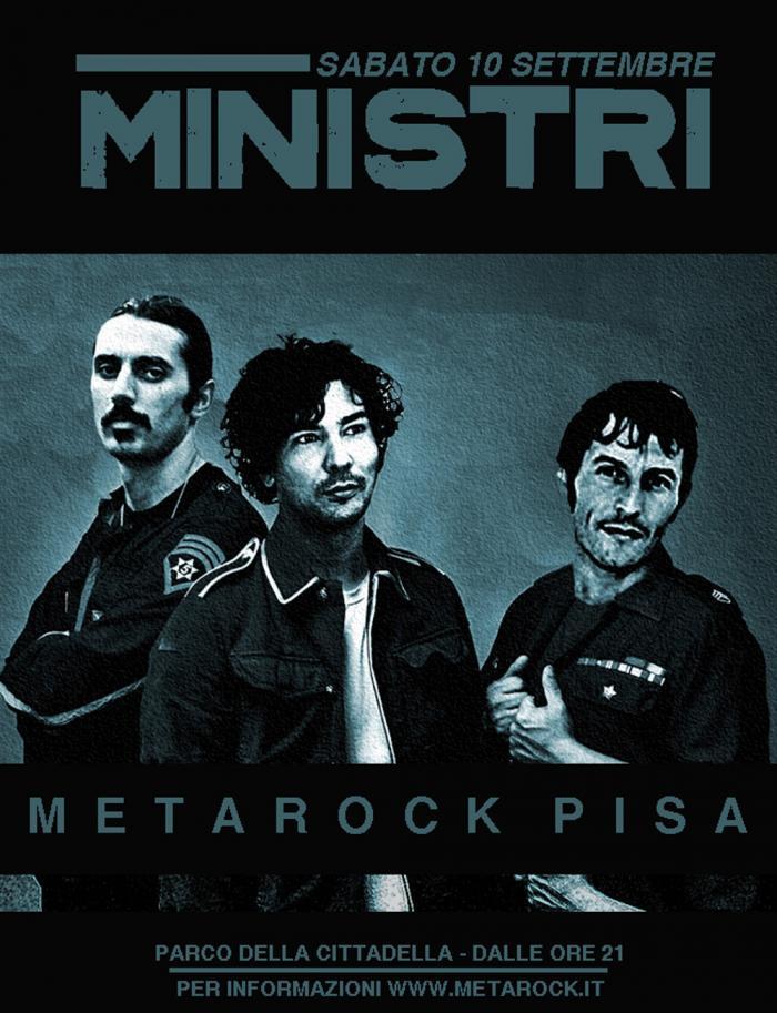 La copertina pisana dei Ministri, ovviamente