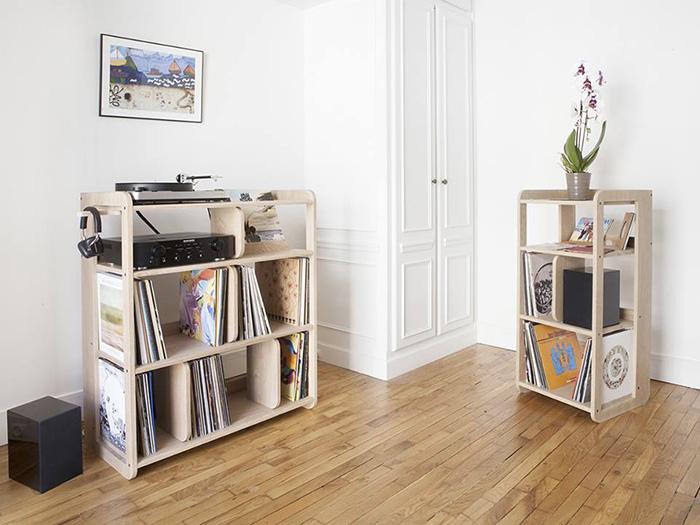 I modi pi creativi per disporre i propri vinili in casa il mobile porta vinili della estis - Mobile porta dischi vinile ...