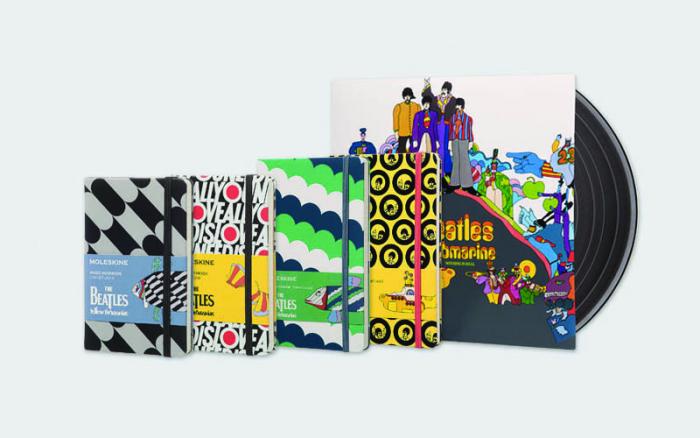 Le Moleskine in edizione limitata dedicate ai Beatles