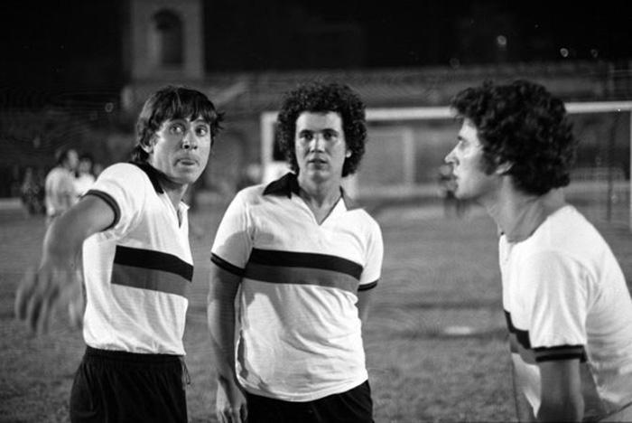 Gianni Morandi, Lucio Battisti e Fausto Leali