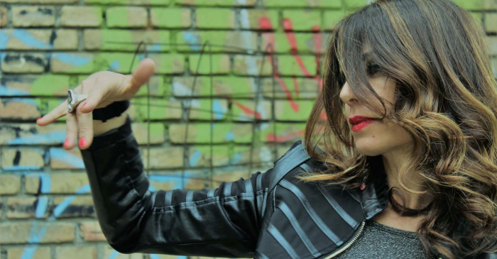 Ivy al muro (Berlino?)